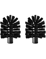 Replacement Brushes for The Brush Hero System, Pair (Black/Black)