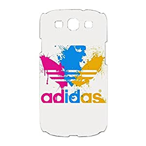 Creative Drawing Design Adidas Logo 3D Phone Case Snap on Samsung Galaxy S3 I9300 Adidas Series Logo