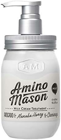 Amino Mason - Moist Milk Cream Treatment, 15.21 oz.