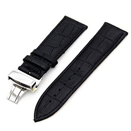 Amazon.com: Jewh Genuine Leather Watch Band 22mm for LG G Watch - Fashionable Watch Band - W100 / W110 / Urbane W150 Strap Wrist Loop - Belt Bracelet Black ...
