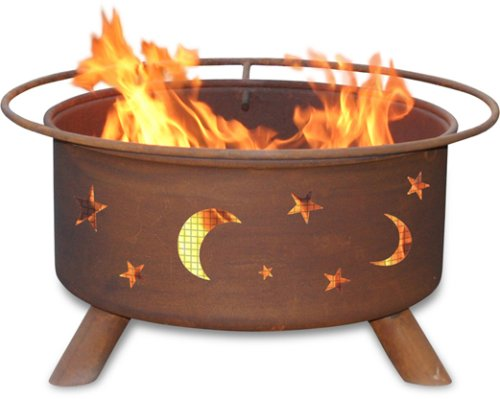Patina Products F100, 30 Inch Evening Sky Fire Pit (Patina Outdoor Fire Pit)
