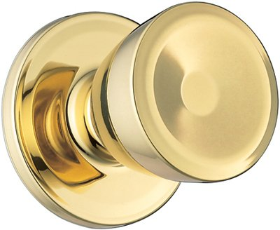 WEISER LOCK GAC101 B5 6LR1 Beverly Passage Knob, Antique Brass