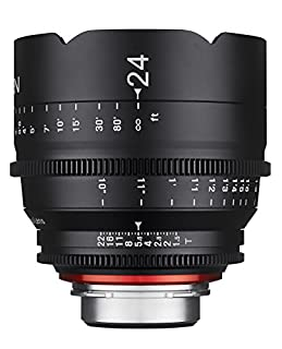 Rokinon Xeen XN24-NEX 24mm T1.5 Professional CINE Lens for Sony E Mount (FE) (B012I5QCDI) | Amazon price tracker / tracking, Amazon price history charts, Amazon price watches, Amazon price drop alerts