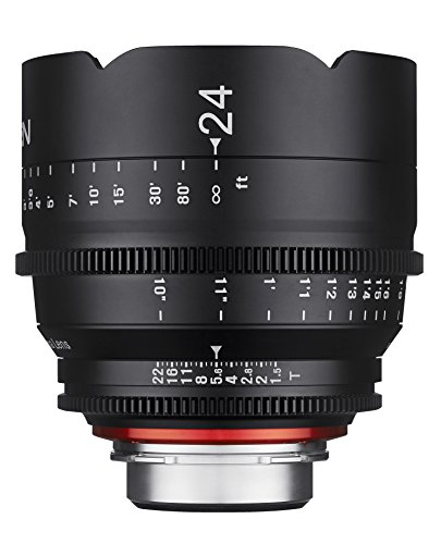 Rokinon Xeen XN24-NEX 24mm T1.5 Professional CINE Lens for Sony E Mount (FE)
