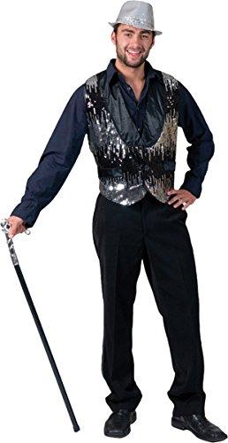 Morri (All That Jazz Silver Adult Vest)