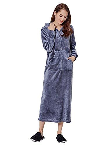 Zip Front Hooded Fleece - 3