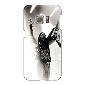 JonBradica Samsung Galaxy S6 Shock-Absorbing Hard Phone Case Provide Private Custom High Resolution Machine Head Band Image [dyj6433XmXF]
