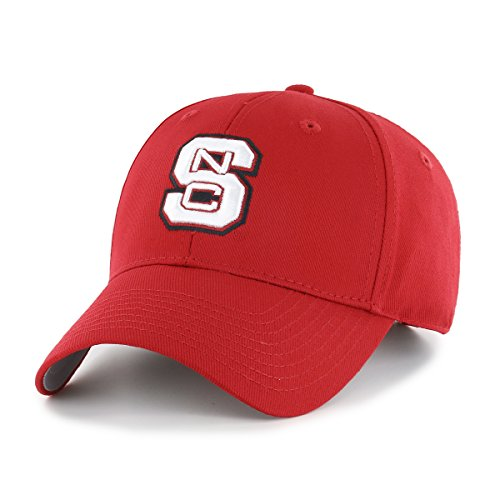 Nc State Wolfpack Baseball - OTS NCAA North Carolina State Wolfpack All-Star MVP Adjustable Hat, Red, One Size