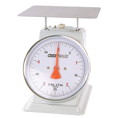 Crestware Heavy Duty Scale 8-Inch Dial Face, 20-Pound by 1-O