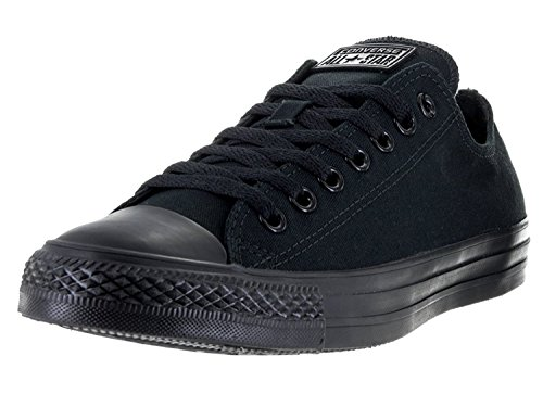 Converse Women's Chuck Taylor All Star Low Top (9 B(M) US, Black Monochrome)
