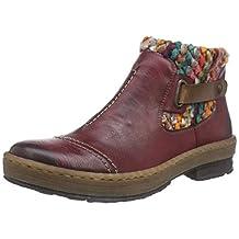 Rieker Womens Z6784-35 Boots Red