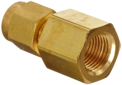 Parker A-Lok 8FSC12N-B Brass Compression Tube Fitting, Adapter, 1/2