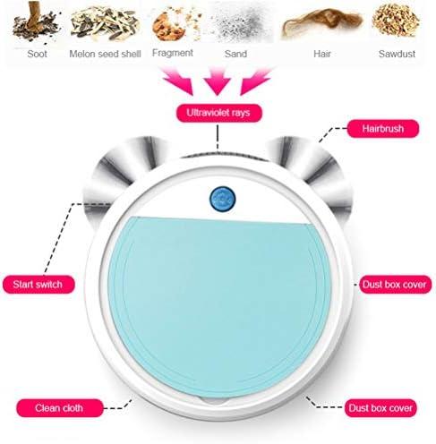 4-1 Vadrouille Humide Pour Aspirateur Robot Intelligent Utilisé Pour Les Tapis De Sol Dur En Même Temps A