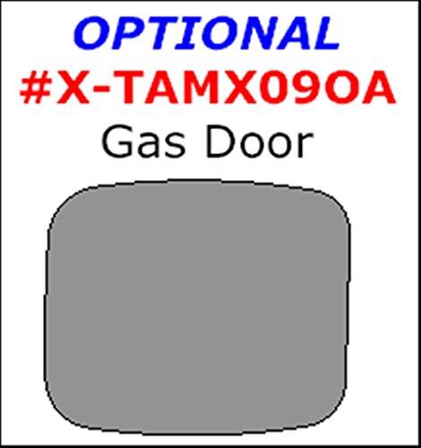 WOW Trim ITEM# X-TAMX09OA-RCF Toyota Matrix, Optional Gas Door, 1 Piece Set, Real Carbon Fiber (Real Fiber Carbon Door Pillars)