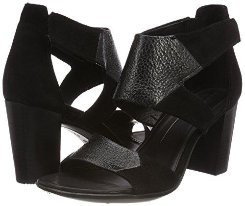 Col Ecco Tacco Aperta black Donna black 65 Nero Punta Shape Scarpe Ot1wxqC1