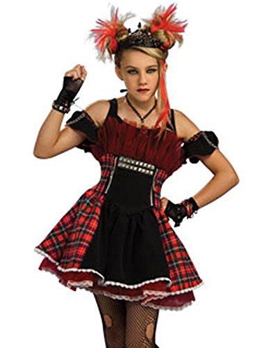 [Teen Punk Ballerina] (Goth Costumes For Tweens)