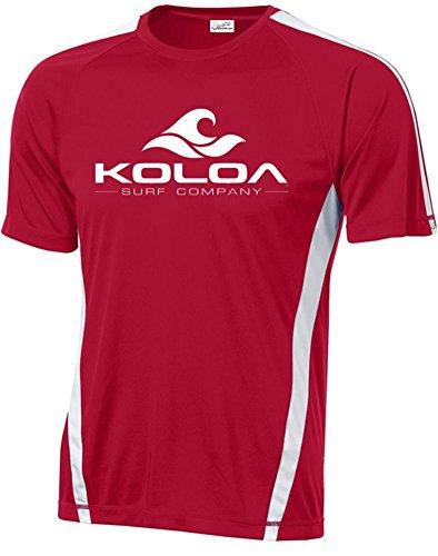 Koloa Surf Wave Logo Moisture Wicking Athletic All Sport Training T-Shirts