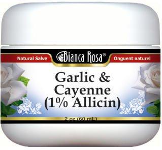 Garlic & Cayenne (1% Allicin) Salve (2 oz, ZIN: 524352)