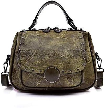 ウィメンズバッグ韓国語バージョン、ワイルドショルダーメッセンジャーバッグ、洗練されたミニマリストスクエアバッグ、グリーン、29 * 16 * 11 Cm 美しいファッション