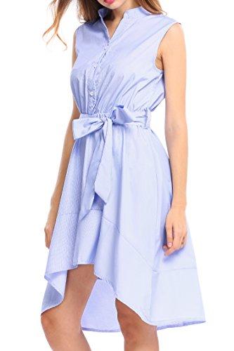 Buy asymmetrical belted dress - 3