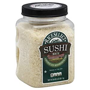 Amazon.com: Rice Select Sushi Rice -- 36 oz: Health