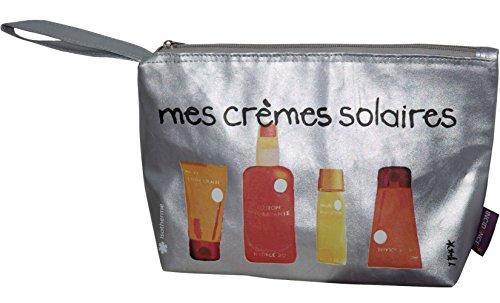 "Incidence Silberner Isotherm Kulturbeutel ""crèmes solaires"""