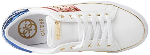 Bianco Footwear Donna Sneaker Lady Active Guess qf7wBXCB