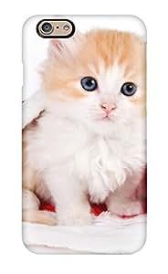 DLiTmkQ12047XaJya Anti-scratch Case Cover ZippyDoritEduard Protective Pretty Bright Kitten Case For Iphone 6