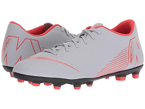 [NIKE(ナイキ)] メンズランニングシューズ?スニーカー?靴 Vapor 12 Club MG Wolf Grey/Light Crimson/Black 11.5 (29.5cm) D - Medium