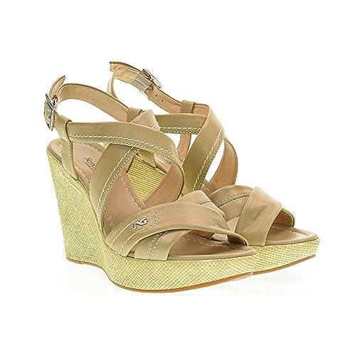 abb3339e26704 70% OFF NERO GIARDINI zapatos de las sandalias de cuña P717630D   410