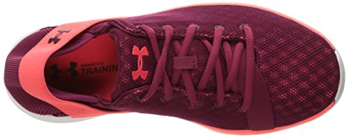 Shoe Cross Red Women's Currant Black Marathon Armour Rotation Blue Under Trainer vqZwtXxvB
