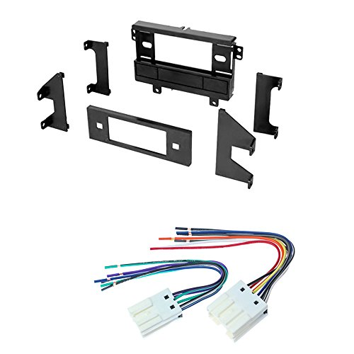 CAR STEREO RADIO CD PLAYER RECEIVER INSTALL MOUNTING KIT WIRE HARNESS NISSAN 240 SX ALTIMA STANZA 1989 1990 1991 1992 1993 1994 1995 1996 1997