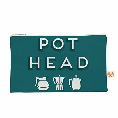 Kess eigene 12,5x 21,6cm Busy Bree Pot Head Alles Tasche–blaugrün
