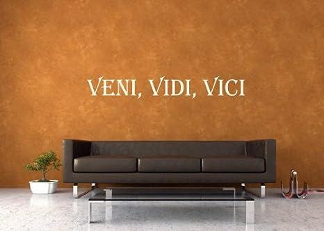 Pared Tattoo Cargar - Adhesivo Pared VENI, Vidi, Vici - 1 1 ...