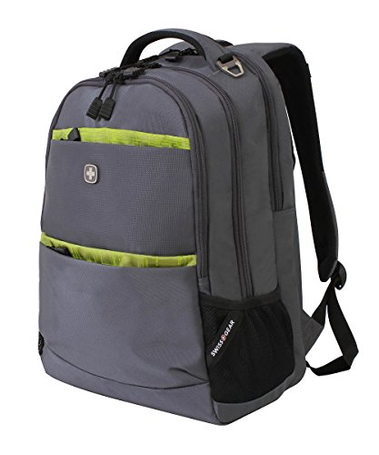 SwissGear Backpack Solid Gray Lime