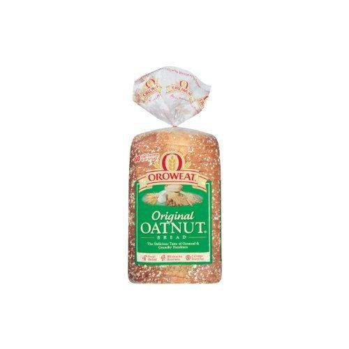 Oroweat Sliced Bread 24oz Loaf (Pack of 2) Choose Flavor Below (Whole Grains - Oatnut) by Oroweat ()