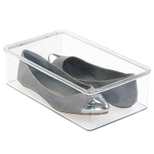 mDesign Storage Organizer Athletic Sandals