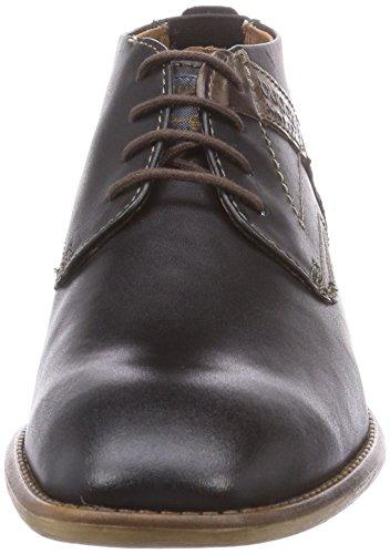 bugatti U8205PR1 - botas de cuero hombre negro - negro