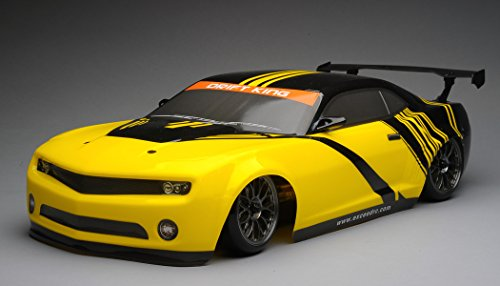 Exceed RC 2.4Ghz MadSpeed Drift King Brushless Edition 1/10 Electric Ready to Run Drift Car w/ LED Head Lights (Yellow/Black)