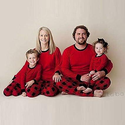 Pijama Navidad Familiar Mismo Vestido Pijama Cabritos de los ...