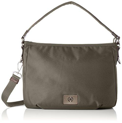 Bogner Small Aisha - Shoppers y bolsos de hombro Mujer Verde (Slate)