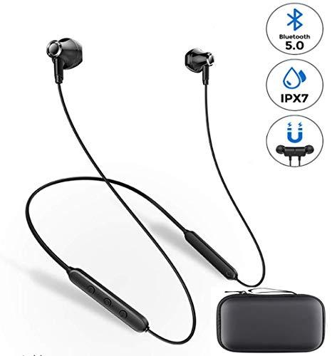 APPLL Bluetooth Headphones, Intelligent Noise Reduction Sports Earphones, with Wireless Bluetooth 5, IPX7 Waterproof…