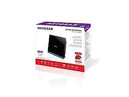 NETGEAR AC1200 Dual Band Wi-Fi Router Fast Ethernet w/USB 2.0 (R6100-100PAS)