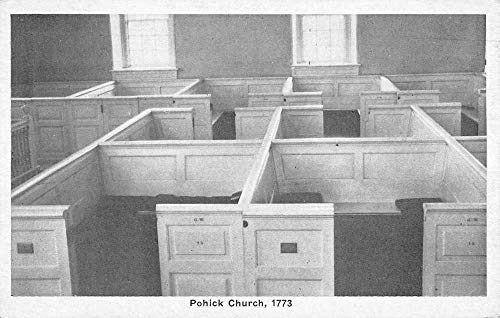 Pohick Virginia Church Pews Antique Postcard K7876446
