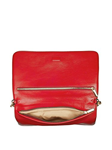 Tory-Burch-Bombe-Reva-Tory-Red-Leather-Clutch-Shoulder-Bag