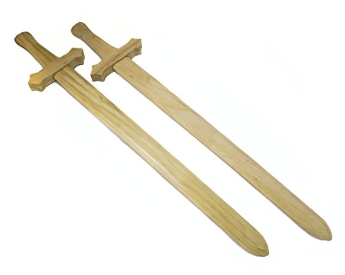 Set Sturdy Wooden Short Swords product image