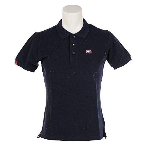 ロサーセン ゴルフウェア ポロシャツ 半袖 カラーネップカノコポロ 044-27342 98ネイビー 52(O)