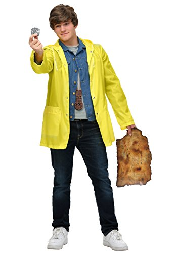 The Goonies Mikey Men's Costume - raincoat, denim style jacket - S to XL