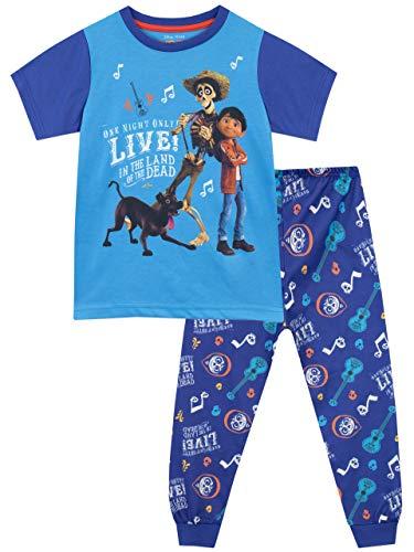 (Disney Boys' Coco Pajamas Blue Size 6)