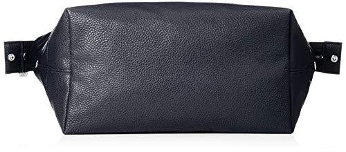 navy Bleu Cabas Exchange Leather Bag Armani Tote xfzTqw1nY